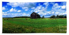 Brimley Farm Near  Sault Ste Marie Michigan  Bath Towel
