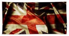British Flag 1 Hand Towel
