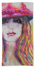 Britney Spears Bath Towel