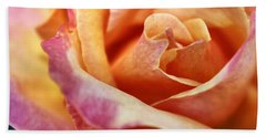 Broadway Hybrid Tea Rose Bath Towel by Jason Politte
