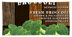 Broccoli Farm Hand Towel