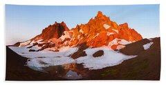 Broken Top Mt. Sunrise Hand Towel