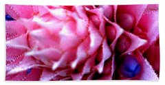 Bath Towel featuring the photograph Bromeliad Extravaganza by Leanne Seymour