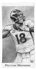 Broncos Peyton Manning Hand Towel