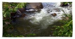 Brook Of Tranquility Hand Towel