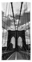 Brooklyn Bridge Hand Towel