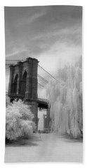 Brooklyn Bridge Willows Hand Towel