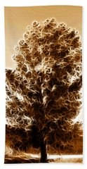 Bath Towel featuring the digital art Brown Of Autumn by Sotiris Filippou