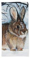 Brrrr Bunny Hand Towel