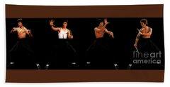 Bruce Lee - Times Four Bath Towel