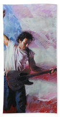 Bruce Springsteen The Boss Bath Towel