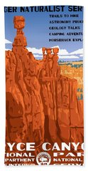 Bryce Canyon National Park Vintage Poster 2 Hand Towel