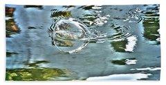 Bubble Reflection Hand Towel