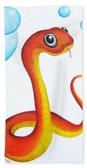 Bubbly Baby Snake Hand Towel