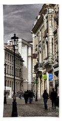 Bucharest The Little Paris Hand Towel