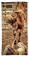 Bucking Hand Towel by Caitlyn  Grasso