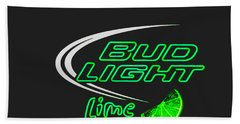 Bud Light Lime 2 Bath Towel by Kelly Awad