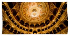 Budapest Opera House Auditorium Bath Towel