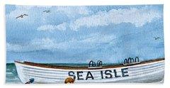 Buddies In Sea Isle City 2 Hand Towel
