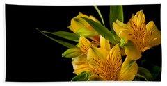 Bath Towel featuring the photograph Budding Flowers by Sennie Pierson
