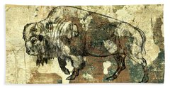 Buffalo 7 Bath Towel by Larry Campbell