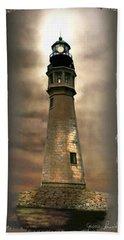 Buffalo Main Lighthouse Bath Towel