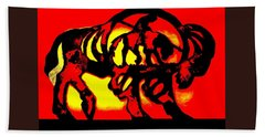 Buffalo Sun Set Bath Towel