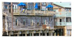 Building On Piles Above Water Bath Towel