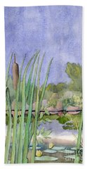 Bullrushes Hand Towel
