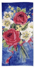 Bunch Of Flowers Hand Towel