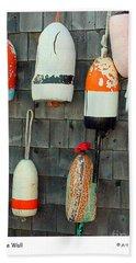 Buoys On The Wall Hand Towel