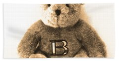 Burberry Bear Bath Towel