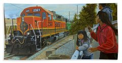 Burlington Northern Santa Fe Hand Towel