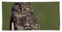 Burrowing Owl Bath Towel