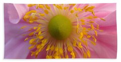 Windflower Bath Towel by Cheryl Hoyle