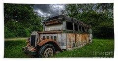 Bus Decay 16 By 9  Bath Towel