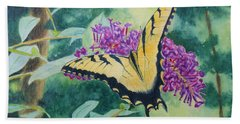 Butterfly Bush Hand Towel