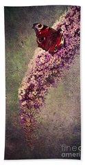 Butterfly Bush Hand Towel