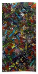 Hand Towel featuring the photograph Butterfly Collage by Robert Meanor