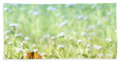 Hand Towel featuring the photograph Butterfly Dreams by Holly Kempe