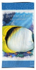 Butterfly Fish Bath Towel