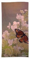 Butterfly Glow Bath Towel by Elizabeth Winter