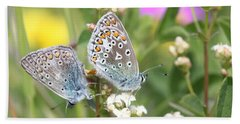 Butterfly Lovers Hand Towel