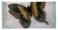 Butterfly Of Transformation Bath Towel