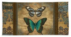 Butterfly Patchwork Hand Towel