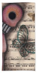 Butterfly Secrets  Hand Towel
