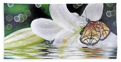 Butterfly Series Seven Bath Towel