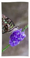 Butterfly - Tailed Jay I Bath Towel