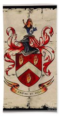 Byrne Coat Of Arms Hand Towel