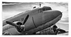 C-47 Skytrain Bath Towel